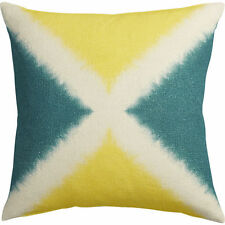 """Crate & and Barrel/Cb2 DICHROMIC X Pillow Cover -20"""" Sq.- NWOT-Tie-dye-Hand-dyed"""