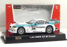 Bburago 38010 RACING BMW Z4 M Coupe' - METAL Scala 1:43