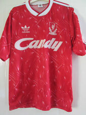 "Liverpool 1989-1991 Home Football Shirt Mans Adult 38""-40"" /37913 ynwa"