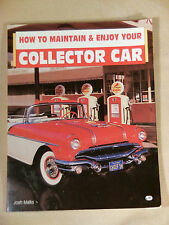 How to MAINTAIN & ENJOY YOUR COLLECTOR CAR by Josh Malks, NICE LOOK!! automobile
