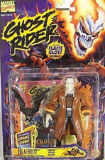 Ghost Rider Series 1 (1995) - Blackout with Mini Comic Book by Toy Biz (MOC)