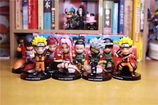 8pcs Set Anime Naruto Sushi Limited Eidition Collection PVC Figure New In Box