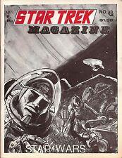 """Star Trek TOS Fanzine """"Star Trek Magazine #4"""" GEN, Star Wars articles Vintage"""