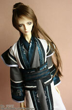 Super Dollfie BJD 70cm Boy White Hanfu Set