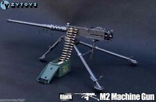 ZY Toys 1/6 Scale Army Soldiers M2 Machine Gun Model Cal. .50 M2HB F 12'' Figure