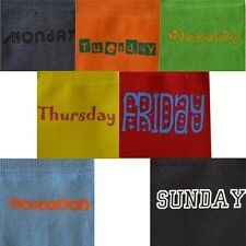 Multicoloured Retro Signography 7 Day Sock Pack