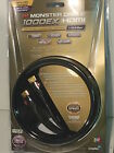 Monster HDMI Cable 1000HDex Ultra High Speed 4K HD 2160p-1080p 15.8 Gbps 3D 3ft