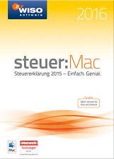Download-Version WISO steuer:Mac 2016 für die Steuererklärung 2015