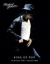 (LAMINATED) MICHAEL JACKSON POSTER (40x50cm) KING OF POP NEW LICENSED ART