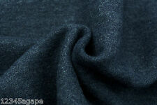 C66 LUXURIOUS DENIM BLUE 100% COTTON MOLE SOFT SKIN MADE IN ITALY FOR HUGO BOSS