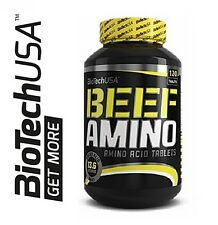 Biotech USA BEEF AMINO 120 Tablets -  BEEF PROTEIN ISOLATE HIGH QUALITY !!!