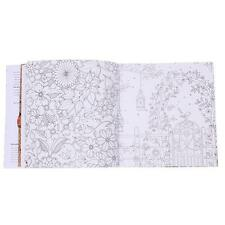 Fashion 20 Pages Adults Children English Version Secret Garden Coloring Book Y