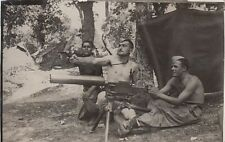 9193) 1939, CAMPO A CANTALUPO, ALESSANDRIA, MITRAGLIATRICE FIAT REVELLI 1914.