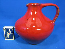 Beautiful glazed 50´s design pottery jug vase Wilhelm & Elly Kuch / Krugvase