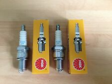 HONDA CM125 CM200 CUSTOM CD125 CD185 CD200 BENLY NGK SPARK PLUGS SET FREE POST!
