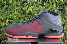 NIKE AIR JORDAN SUPERFLY 4 PO SZ 11.5 BLACK INFRARED ANTHRACITE 819163 012