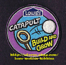 LMH Patch  CATAPULT    LOWES Build Grow Project Series Kid's