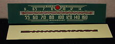 Addison 5 Catalin Radio Green Dial Glass Exact Reproduction