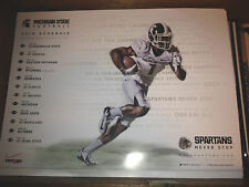 2014 Michigan State Spartans football poster MSU Dantonio 2014 ROSE BOWL Champs