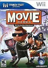 Nintendo Wii 20 PARTY THRILLING HOLLYWOOD MOVIE GAMES BLOCKBUSTERS
