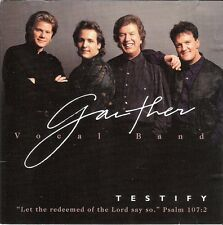 CD Gaither Vocal Band. Testify. Como nuevo. American Gospel. Mark Lowry