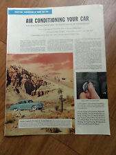 1953 Chrysler Ad Air Conditioning Your Car Blazing Heat of the Mojave
