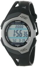 Casio 60-Lap Resin Watch, Chronograph, Date, 4 Alarms, 50 Meter WR, STR300C-1V