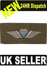 DANISH CLOTH PARACHUTEPARA WINGS COLOUR - PATCH - BADGE