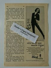 Werbeanzeige/advertisement A5: Toni Dress - Stretch-Elastikanzug 1966 (09081688)