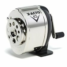 X-Acto Steel Pencil Sharpener KS 1031 Table or Wall Mount NEW