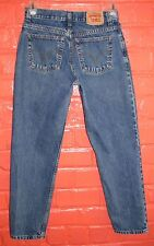 Levi's 550 Relaxed Fit Jeans Ladies 10 M Tapered Leg Red Tab 100% Cotton 28 x 29