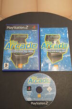 PS2 : THE ARCADE - Completo, ITA ! 10 giochi classici in 1 ! Ore di retrogaming