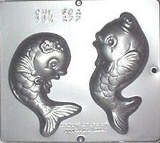 Happy Fish Chocolate Candy Mold 554 NEW