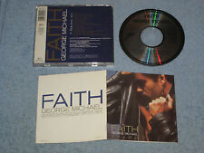 George Michael Faith early CD Japan-for-Europe 1987 (Epic, EPC 460000 2) Wham!