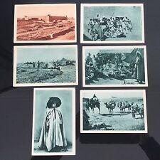 Lot De 6 CPA Algérie 1930 Centenaire Postcards Cartes Postales