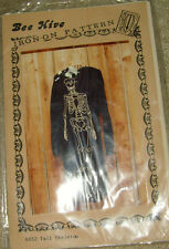 NIP Bee Hive Iron On Pattern 6652 Tall Skeleton Halloween or Gothic crafting