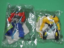 Série Transformers Robots lot 2 figurine jouet Happy meal Mc do Donald's