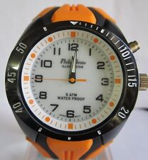 PHILIP PERSIO ILLUMINATOR  WATER PROOF JAPAN MEN WATCH