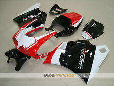 ABS Fairing fit for DUCATI 748 916 996 WHITE RED BLACK