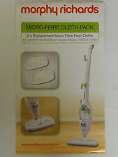 Morphy Richards Steam Mop micro-fibre cloth pack Upright handheld 720020 70495