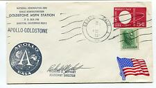 1971 Apollo NASA Goldstone MSFN Station Richard D.Kephart Space Cover SIGNED