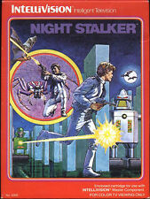 NIGHT STALKER NEW & FACTORY SEALED INTELLIVISION 1982