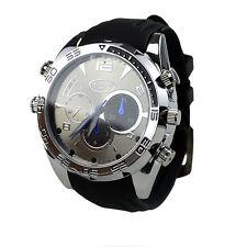 1080P 16GB HD Camcorder IR Night Vision Wrist Watch Spy Camera Waterproof DVR