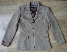 Womens  Ralph Lauren Beige Silk / Cotton  jacket blazer Sz 6 (S/M)  ,VGC !