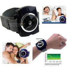 Snore Gone Cessation Stop Anti Snoring Wristband Watch Sleeping Night Guard HOT