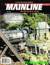 Mainline Modeler July 04 UP Union Pacific Gondola T&P C&O CPR Auto Box Car N&W