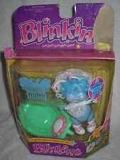 #6428 NRFB Vintage LJN Blinkins Baby Twinkle with Green Leaf Cradle Variation