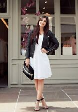 Claudie Pierrot Robe Taille 36 Blanche patineuse Broderie Anglaise 225 euro prom