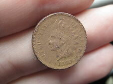 1870 Indian Head Cent Penny, Shallow N, Metal Detector Find?