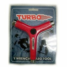 TURBO Y-Wrench Skateboard Tool Red Brand New